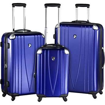 Click to buy Hard Sided Luggage: Heys USA 4WD Metallics 3 Pc. Luggage Setfrom Amazon!