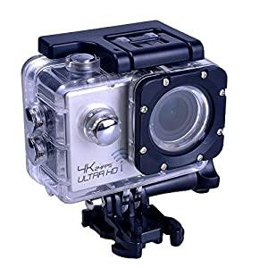 PowerLead Afun PAC003 2.0 Inch Outdoor Waterproof Sports Camera 4K Resolution. 170 Ultra-wide Angle lens 3840x2160 24Fps Real 4K 2560x1440 30Fps 2K Hd Sports Action Camera,Wi-fi,Waterproof Camera