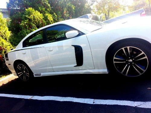 2011-2014 Dodge Charger Sport Door Scoops