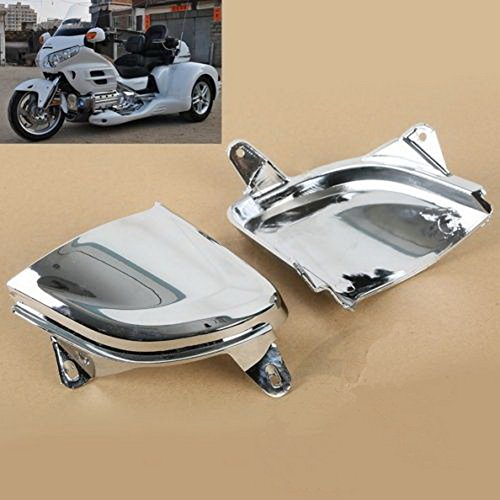 Front Plastic HeadLamp Light Cover Trims For Honda Goldwing GL1800 2006-2014 New (Gts Dodge Ram Headlight Covers compare prices)