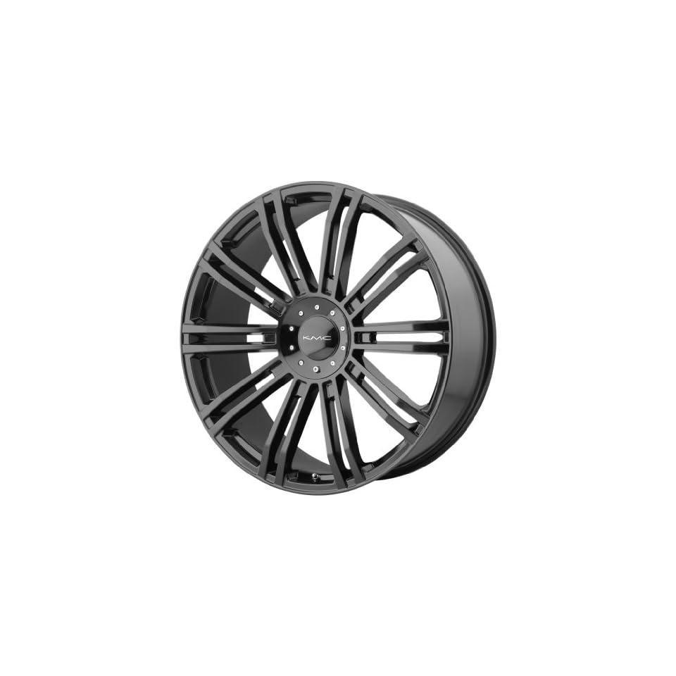 20x8.5 KMC D2 (Gloss Black) Wheels/Rims 6x135/139.7 (KM67728566335) Automotive
