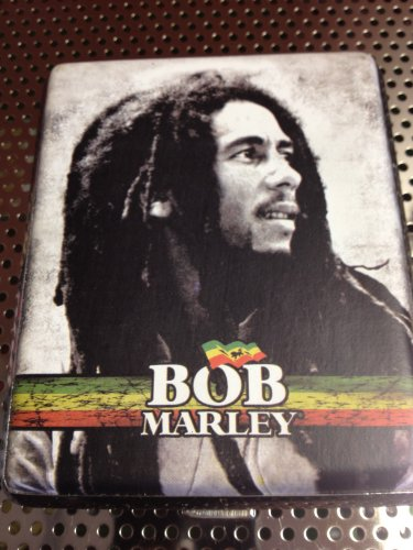 Bob Marley Cigarette Case for King Size or 100's Size Cigarettes/ ID Holder/credit Card Holder #009