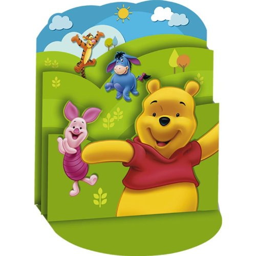Winnie the Pooh 12 5/8in Centerpiece by Party Supplies