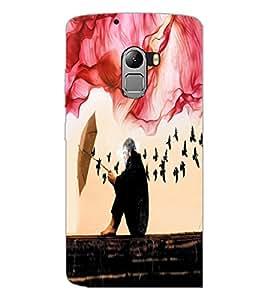 PrintDhaba Creative Image D-4059 Back Case Cover for LENOVO VIBE K4 NOTE (Multi-Coloured)