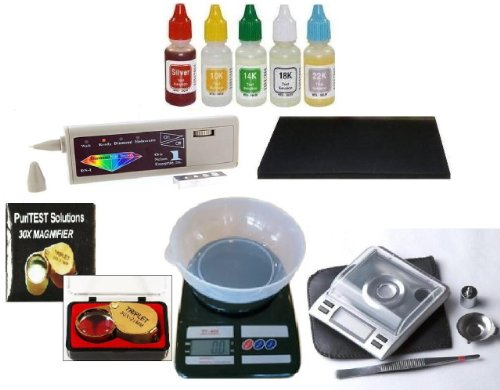 Ultimate Metals & Stones Testing Kit- Mizar DiamondNite