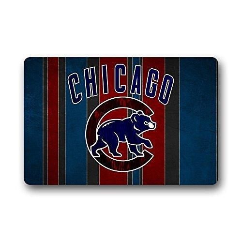 Mlb Baseball Team Logo Themed 59 X 88 Area Floor Rug: Chicago Cubs Bath Rug, Cubs Bath Rug, Cubs Bath Rugs