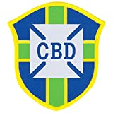 Brazil Embroidery Patch 90mm x 80mm One Size
