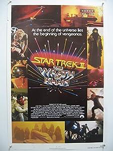 Star Trek Ii: Wrath Of Khan-shatner-poster-orig! Ex