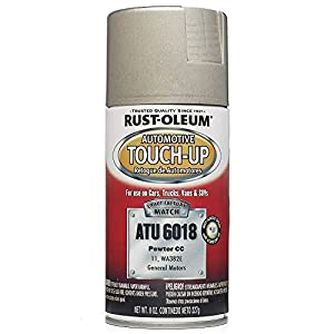 rust oleum atu6018 pewter automotive touch up. Black Bedroom Furniture Sets. Home Design Ideas