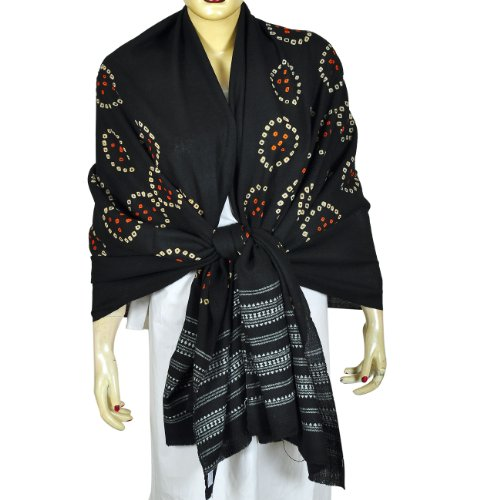 Indian Dress Tie Dye Scarf Shawl Clothes for Women Fashion Clothes 35 X 80 Inches