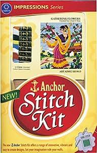Anchor Stitch Kit Gathering Flowers