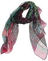 Desigual - black flowers - foulard - femme