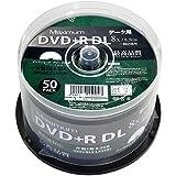 MXD+R85HP50 マックシマムのDVD+R DL 50枚入り