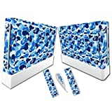 Linyuan 安定した品質 A0287* Gaming Console & Controller Skin Sticker Decal for Nintend Wii