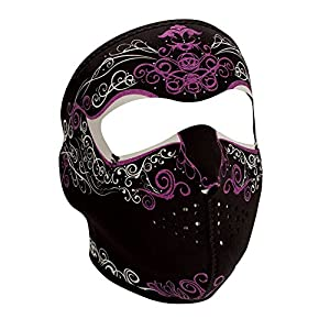 ZANheadgear Neoprene Full Face Mask, Lady Venetian, One Size by ZAN HEADGEAR