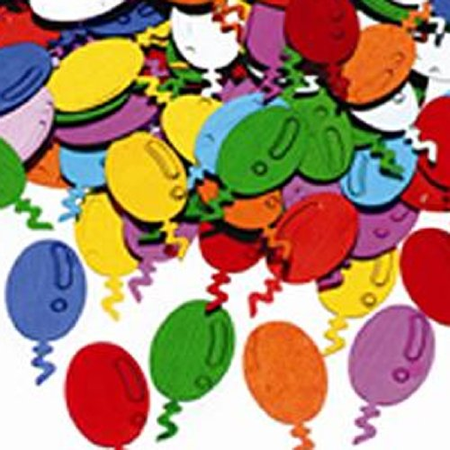 Balloons Table Confetti
