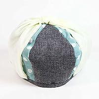 帽子 レディース レイヤード付きリボンベレー帽(ポリエステル100%/amazonおしゃれファッション通販/頭囲:56cm/灰色茶色画家大人通勤通学婦人つばのない絵描き女性ビジネス漫画家)