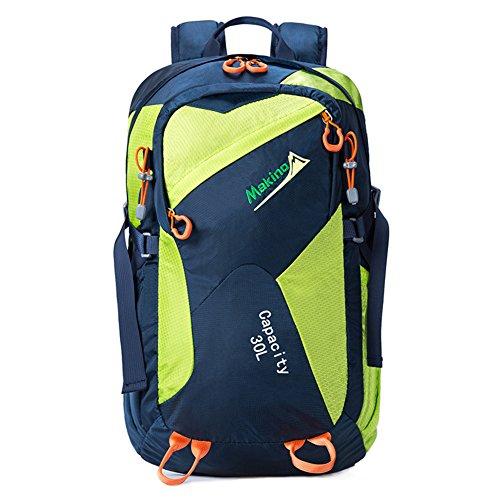 les hommes et les femmes en plein air multifonctions sac à dos / sac à bandoulière / sac à dos équitation / sac d'alpinisme-bleu 30L