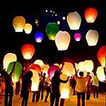 10 PCS Sky Lanterns Paper Lanterns Ch...