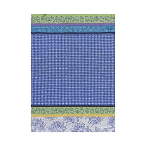 Le Jacquard Francais 21119 Essuie-mains Pays de Provence Coton Bleu lavande Rectangulaire 54 x 38 cm