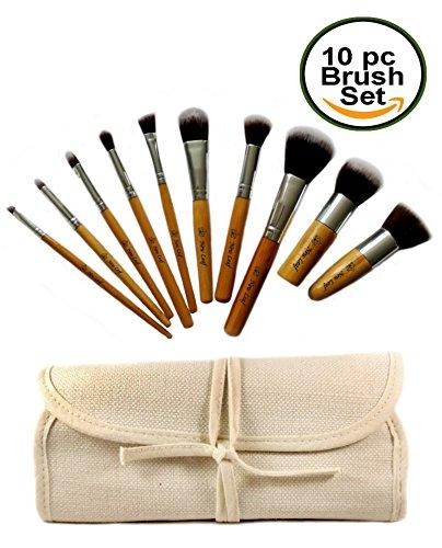 eco-bamboo-kabuki-makeup-brush-tool-set-10-pcs-cruelty-free-vegan-professional-quality-cosmetic-brus
