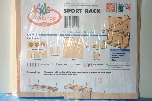 Wood Sports Rack Kit - 1
