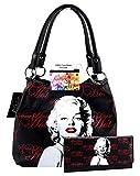 Marilyn Monroe Medium Handbag Wallet Set, Some Like It Hot