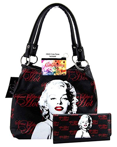 Marilyn Monroe bag Wallet Set