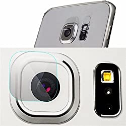 Back Camera Lens Flash Tempered Glass Cover Camera Protector for Samsung Galaxy S7 Edge**