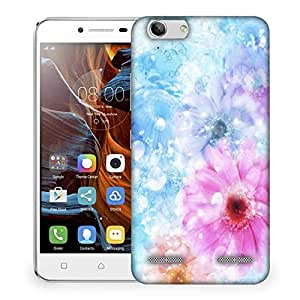 Snoogg Colorful Sunflower Designer Protective Phone Back Case Cover For Lenovo K5 Vibe