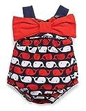 Mud Pie Little Girls' Whale Bubble Swimsuit (3T)