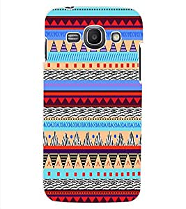 ColourCraft Tribal pattern Design Back Case Cover for SAMSUNG GALAXY ACE 3 S7272 DUOS