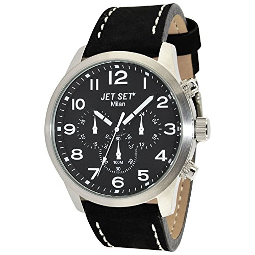 Jet Set Men's Watch Milan black/silver J64803-217
