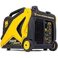 Wen 56310i 3100 Watt Gasoline Inverter Generator (Black)