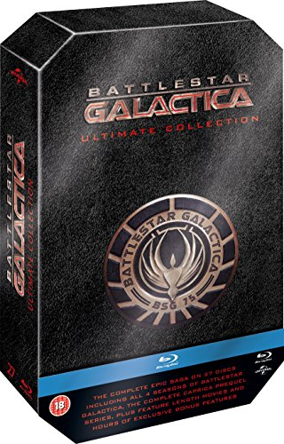 Battlestar Galactica - The Ultimate Collection [Blu-ray] [Region Free]