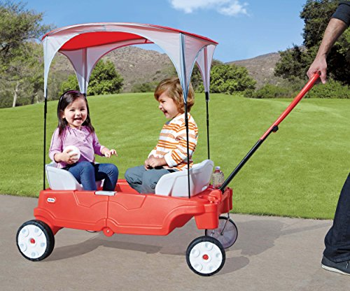Image 2 of Little Tikes Fold 'n Go Deluxe Folding Wagon