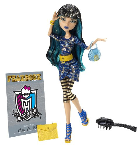 Mattel Y8500 Monster High - Bambola Cleo de Nile, con diario