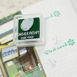 Fingerprint Ink Pads - Green