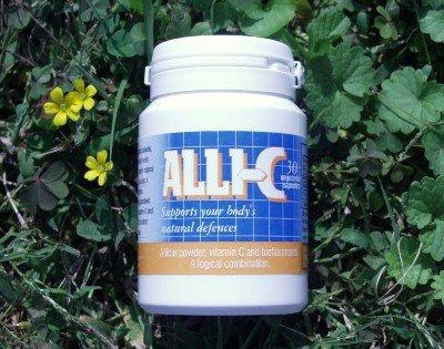 ALLI-C allicine avec la vitamine C et bioflavonoïdes - 30 capsules végétariennes capturer la puissance de l'ail