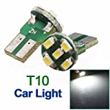 2X T10 Parker 2825 1206 5 LED Car Wedge SMD Bulb Light Lamp 12V