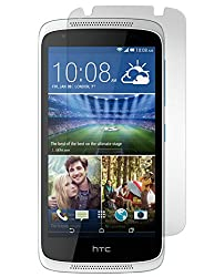 HTC Desire 526 Tempered Glass Screen Protector with OTG Cable (TEMPERED GLASS + OTG CABLE) COMBO by DRaX®