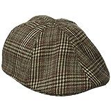 San Diego Hat Co. Men's Plaid Ivy Driver Hat