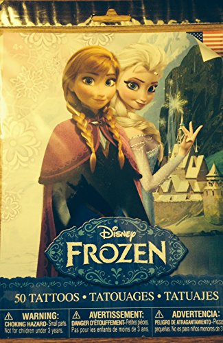 Disney Frozen Temporary Tattoos 50 Count - 1