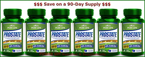 *90-Day Supply* Peak Life PROSTATE (30 softgels) (Prostate Peak Life compare prices)