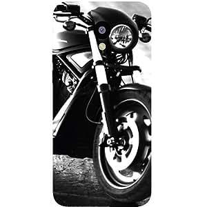 Casotec Cool Harley Davidson Design Hard Back Case Cover for Meizu M2