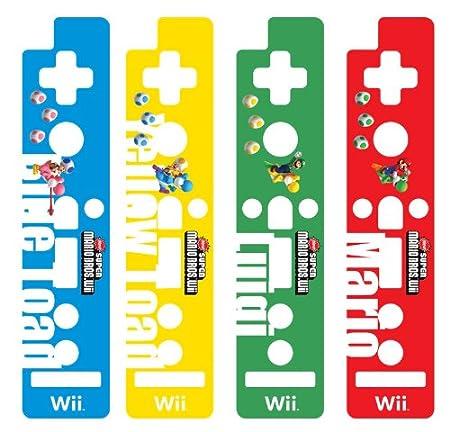 HORI Wii Remote Decoractive Skin - Super Mario Bros. Version C