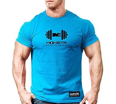 Monsta Clothing Co. Men's Monsta MC-Drift: Dumbbell (TEE170) T-shirt