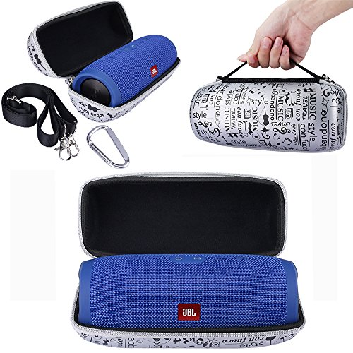 Click to buy EVA Portable Hard Carrying Storage Holder Zipper Bag Case for JBL Charge3 Charge 3 Wireless Bluetooth Speaker (Silver) - From only $19.95