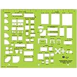 Jakar Metric Templates - Interior Design: Scale 1:50. 279x216mm (4673)