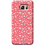 Tecozo Designer Printed Back Cover For Samsung Galaxy S6, Samsung Galaxy S6 Back Cover, Hard Case For Samsung Galaxy S6, Case Cover For Samsung Galaxy S6, (Pink Pattern Design,Pattern/ Colourful)